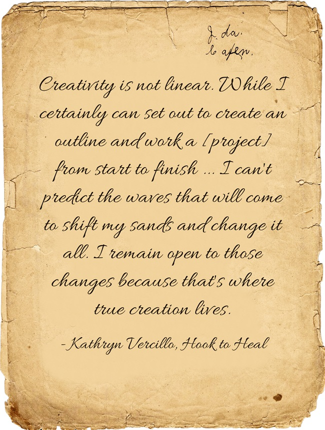 Creativity-is-not-linear